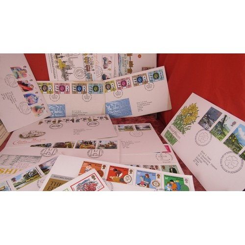 50 - 30 X JOB LOT OF FIRST DAY COVER STAMPS...