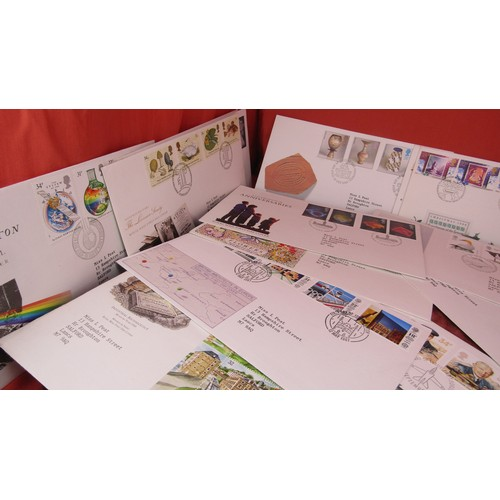 60 - 30 X JOB LOT OF FIRST DAY COVER STAMPS...