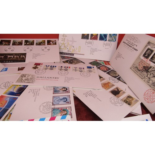 4 - 30 X JOB LOT OF FIRST DAY COVER STAMPS...