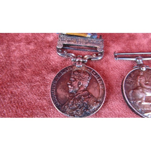 12 - 231875, GUNNER H.BROMLEY WW1 GUNNER ROYAL ARTILLERY PAIR OF WAR MEDALS INDIA /AFGHANISTAN CAMPAIGN M...
