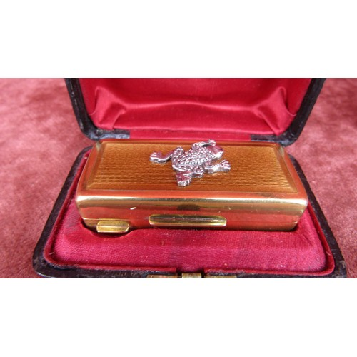 2 - RARE MASTER JEWELLER WHO WORKED FOR FABERGE DIAMOND GUILLOCHE ENAMEL AND SILVER GILT RUSSIAN SNUFF B...