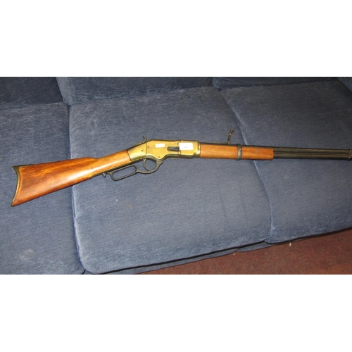 424 - WINCESTER REPEATER REPRO RIFLE...