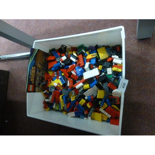 408 - BOX OF LEGO...