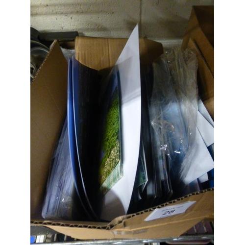 28 - BOX OF PRINTS...