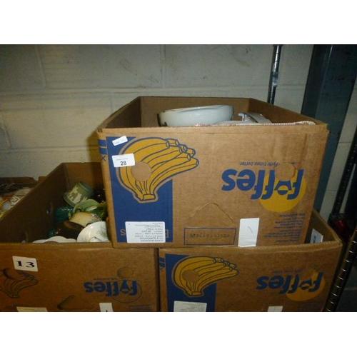 28 - 3 BOX LOTS...
