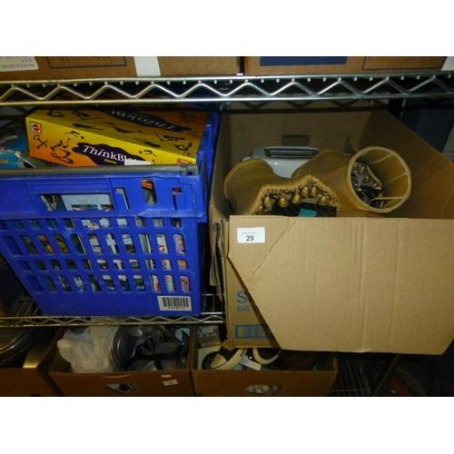 29 - 2 BOX LOTS...