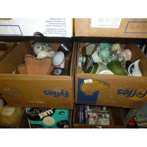 34 - 2 BOX LOTS...