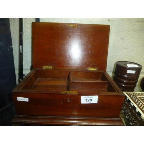 120 - STATIONERY BOX