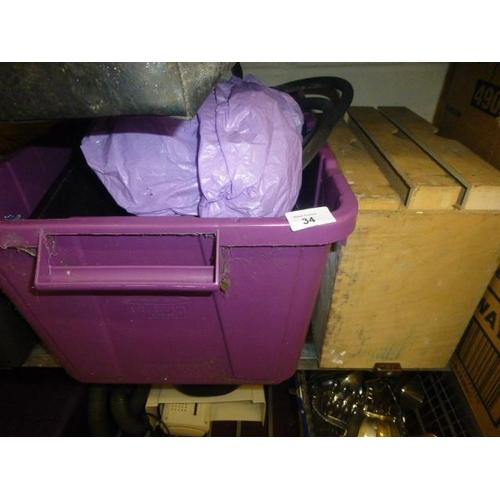 34 - BOX LOT...