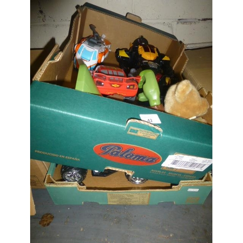 42 - 2 BOXES OF TOYS...