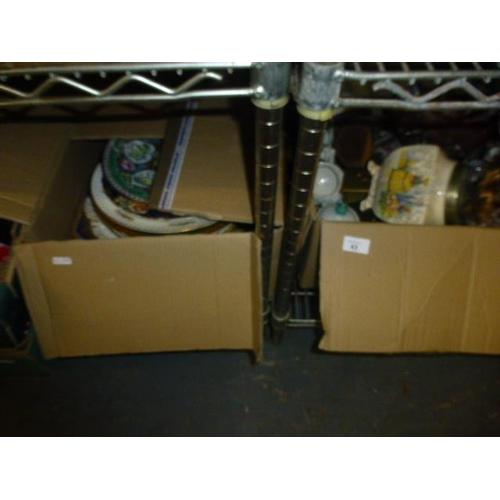 43 - 3 BOX LOTS...