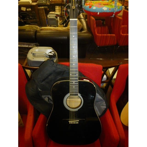 636 - GUITAR AND CASE