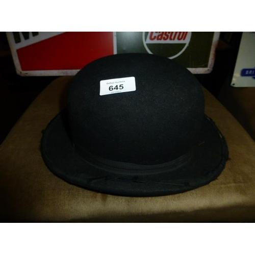 645 - BOWLER HAT