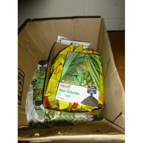 82 - BOX OF SEEDS AND WIPES