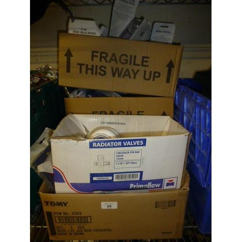 20 - 4 BOX LOTS...