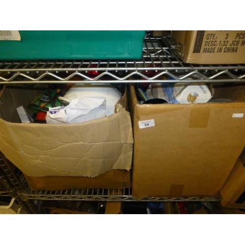 24 - 2 BOX LOTS...