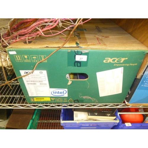 27 - 2 BOX LOTS...