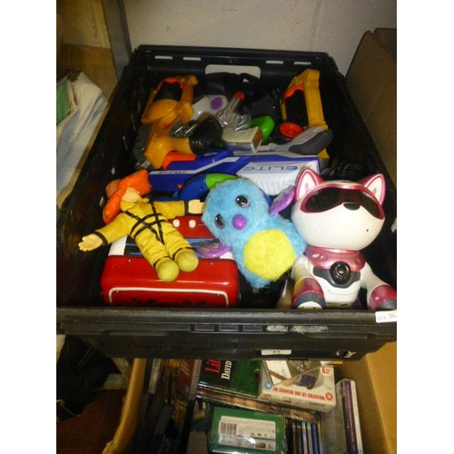 31 - BOX OF TOYS...
