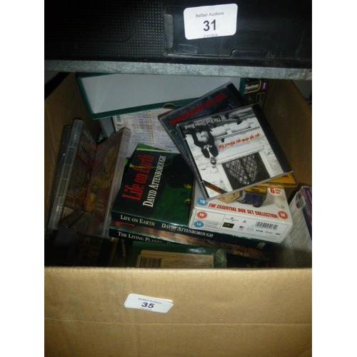 35 - BOX LOT...