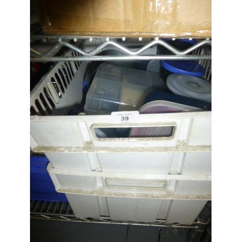 39 - 2 BOX LOTS...