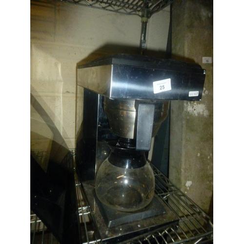 25 - COFFEE PERCOLATOR...