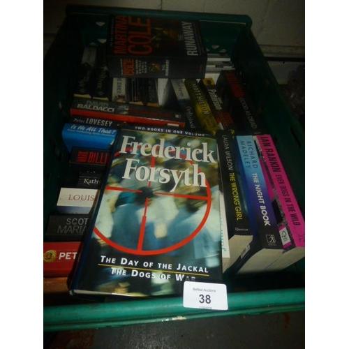 38 - BOX OF BOOKS...