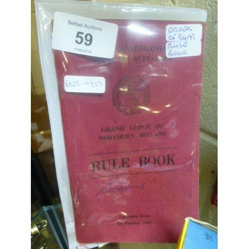 59 - BUFFALOS BOOK...