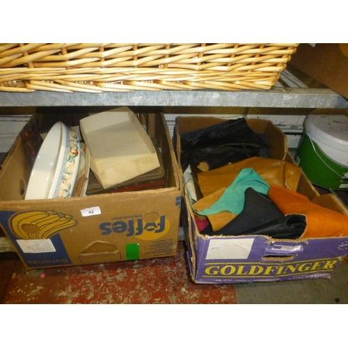 42 - 2 BOX LOTS...