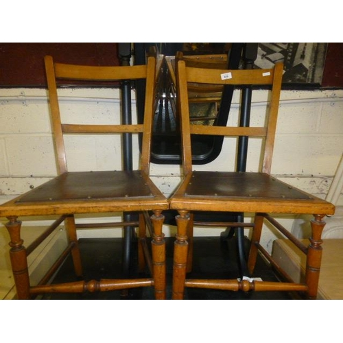 59 - PAIR OF CHAIRS...