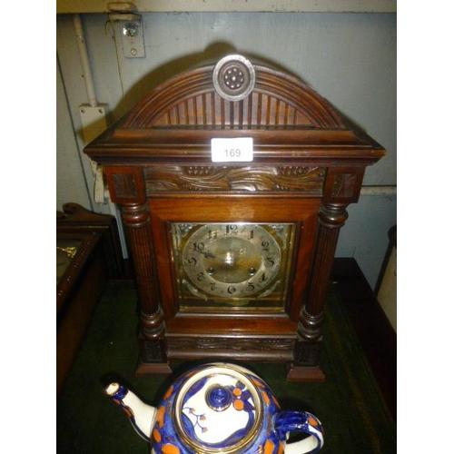 169 - VICTORIAN MUSICAL CLOCK...