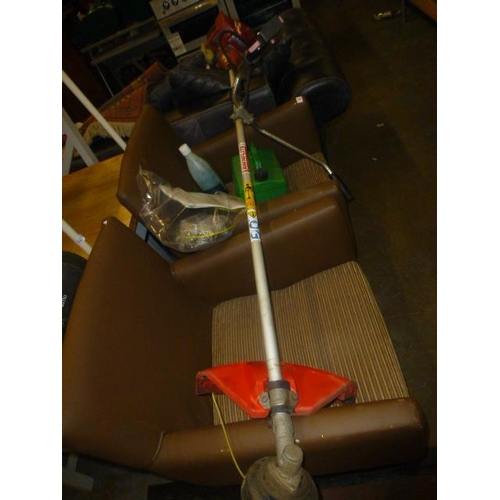 433 - PETROL STRIMMER, SPARES, HARNESS, PETROL CAN...