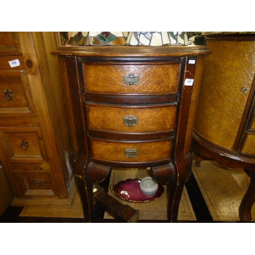 646 - LARGE FRENCH 3 DRAWER CABINET...