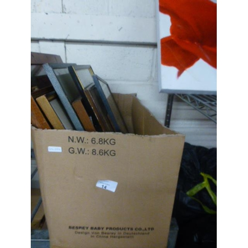 14 - BOX OF PRINTS...