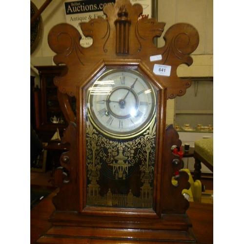 641 - GINGERBREAD CLOCK...