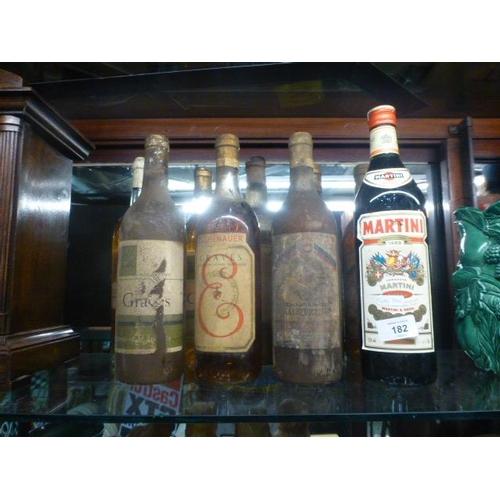 182 - QUANTITY OF ALCOHOL...