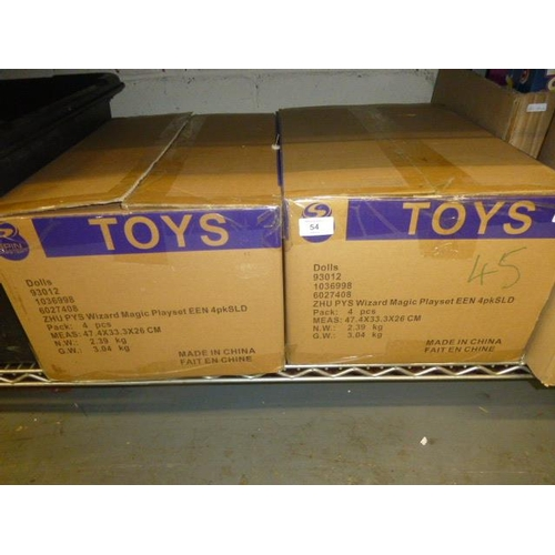 54 - 2 BOXES OF FIGURES...