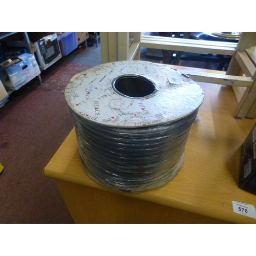 569 - ROLL OF ELECTRICAL CABLE...