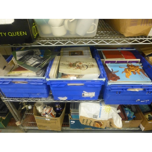 33 - 3 CRATES OF AUCTION CATALOGUES...