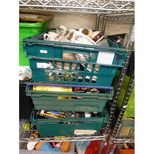 22 - 3 BOX LOTS...