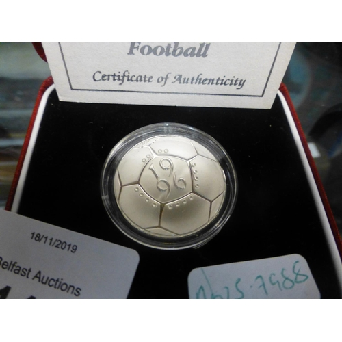 148 - 1996 SILVER PROOF £2 COIN...