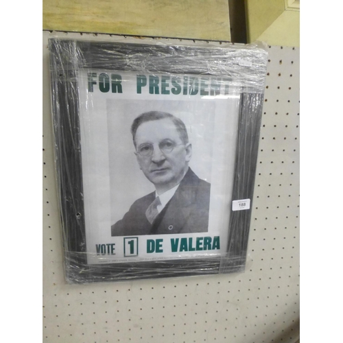 188 - DE VALERA VOTING PRINT...