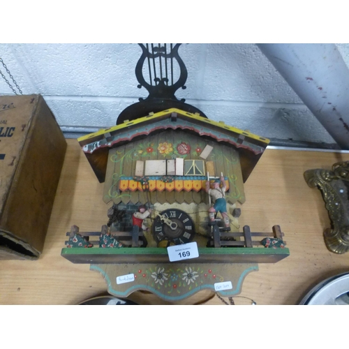 169 - BLACK FOREST CUCKOO CLOCK...