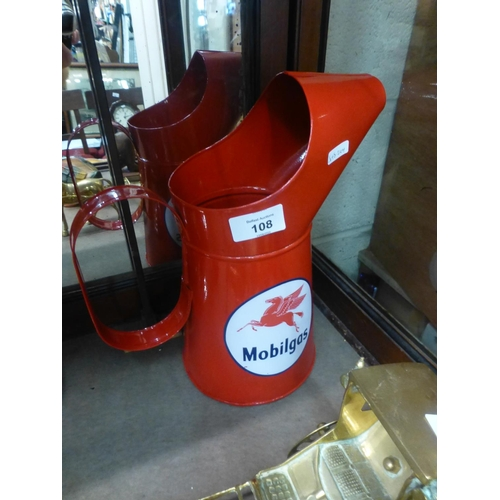 108 - MOBILGAS FUEL CAN