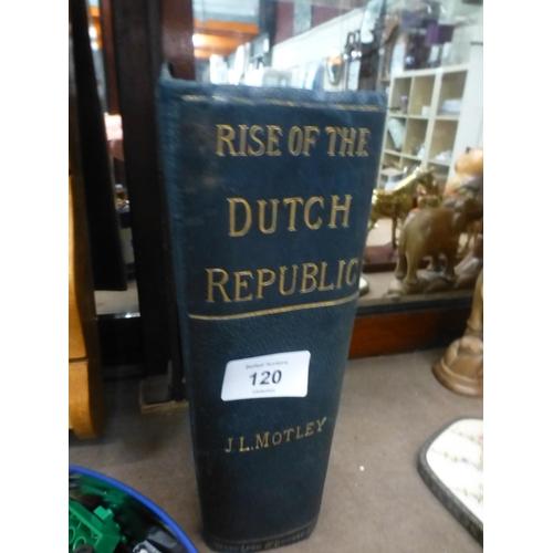 120 - DUTCH REPUBLIC BOOK