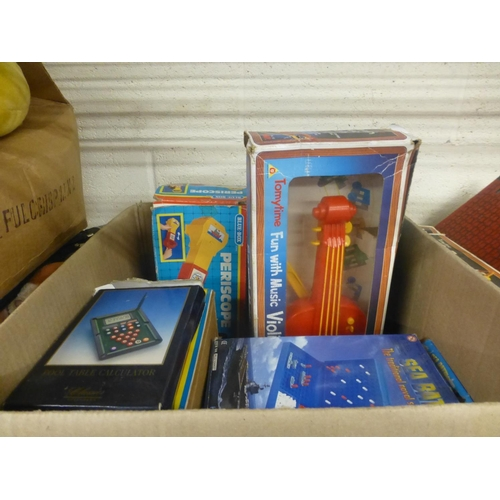 21 - LARGE BOX OF GAMES