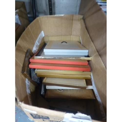 34 - BOX OF PICTURES