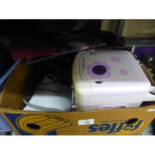 38 - BOX OF HOMEWARE