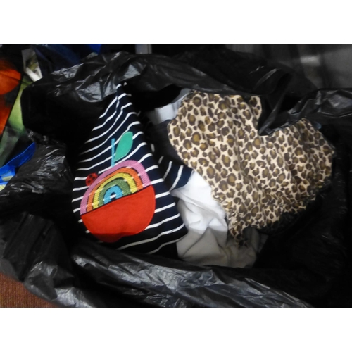 283 - BAG OF KIDS CLOTHES