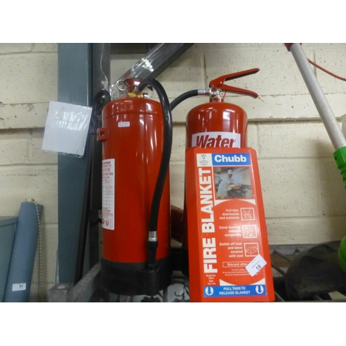 18 - JOB LOT OF FIRE EXTINGUISHERS...