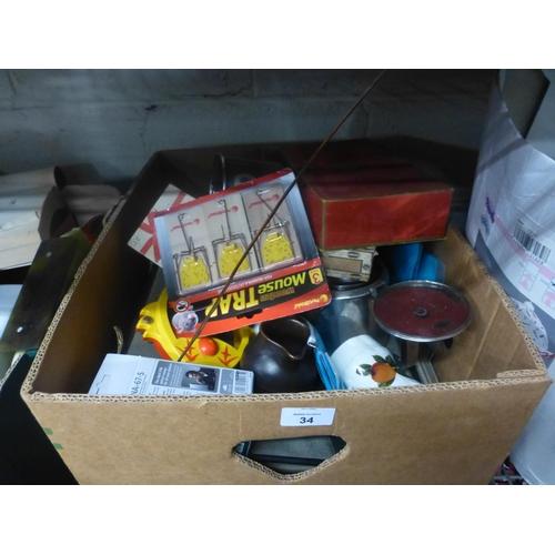 34 - 3 BOX LOTS...